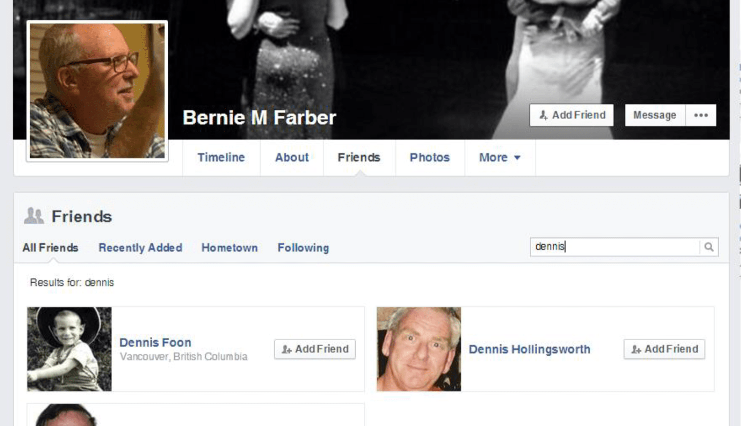 Dennis Foon Farber friendship